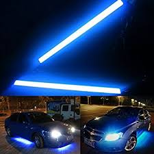 Lights For Car Interior Autostuff Universal Daytime Running Lights For Cars Ice Blue