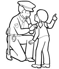 fresh police officer coloring pages color 4509 unknown