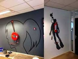 Office Wall Decorating Ideas Fun Office Wall Decor Video And Photos Madlonsbigbear Com