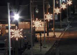 Commercial Christmas Pole Decorations by Take A Stroll With Mosca Design U0027s Holiday Pole Decor Mosca Design