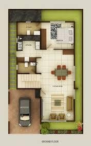 Duplex Floor Plans Indian Duplex House Design Duplex House Map - Home map design