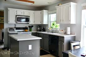 painting cabinets white before and after kitchen cabinet makeover ideas paint makeovers centerpiece home