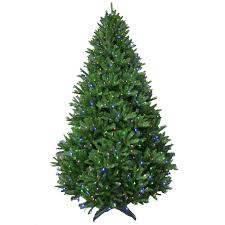 9 ft pre lit led california cedar artificial