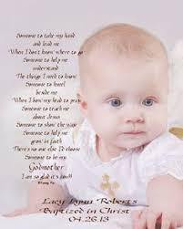 godmother gifts to baby godmother godfather godparents poem thank by foxcreationsonline