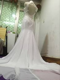 Chiffon Wedding Dresses D238 Halter Lace Appliques Chiffon Wedding Dresses Mermaid Beach