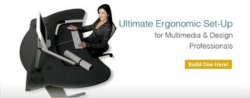 ergonomic computer workstation r3volution gaming cockpit with