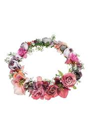 flower accessories statement flower hair garland by orelia hair accessories bags