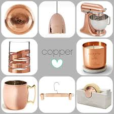 Copper Accessories For Kitchen Copper Home Decor Accessories Diy Better Homes Elegant Copper Home
