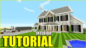 Interior House Minecraft Tutorial How To Make A Suburban House Interior