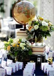 dã co mariage vintage décoration table mariage thème voyage vintage matières
