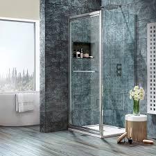 Infold Shower Door Shield Viii Infolding Shower Door