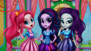 my little pony equestria girls canterlot girls real makeover