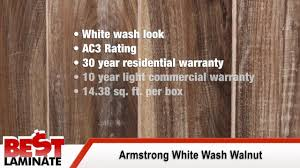 Laminate Flooring Hand Scraped Armstrong White Wash Walnut 12mm Handscraped Laminate Flooring