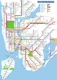 Manhatten Subway Map by Brooke Plyler New York Subway Map Of The