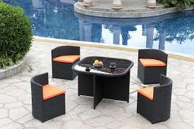 Garden Oasis Dining Set by Garden Adorable Decorating Ideas Using Rectangular Brown Wooden