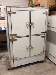 ge glass door refrigerator l k 1927 ge monitor top 3 glass door refrigerator rare rare rare