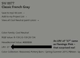 understand lrvs light reflectance values of paint colors to