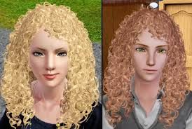 sims 3 custom content hair mod the sims wcif the curly hair in the hair gallery i can t