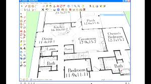 Floor Plan In Sketchup Sketchup House Plans Corglife