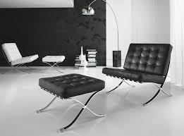 sedia barcellona poltrona barcellona in acciaio lucidato e vera pelle nero