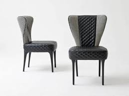 navy blue upholstered dining chairs homesfeed stunning room fabric