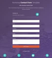 bootstrap contact form how to add a dropdown field azmind