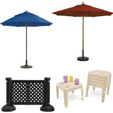 patio table plug 2 1 4 grosfillex occasional tables umbrellas national outdoor furniture