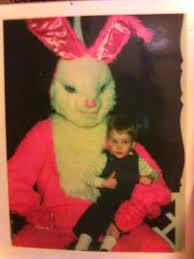 Creepy Mustache Meme - 27 creepy and disturbing easter bunny photos riot daily