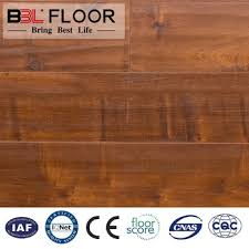 wax sealing ac4 hdf handscarped u groove laminate flooring made in