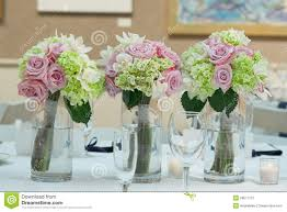 wedding bouquet centerpieces royalty free stock photo image