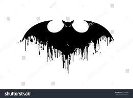 bat icon halloween vector silhouette vector stock vector 492249406
