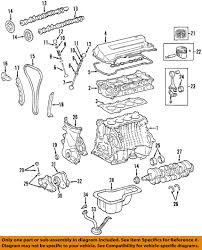 nissan frontier engine diagram toyota oem 98 08 corolla engine timing camshaft cam gear