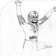 fresh rey mysterio coloring pages 74 for free coloring book with