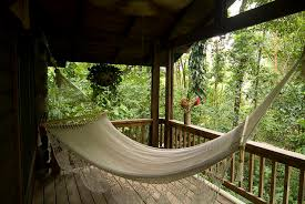 hammock hanging on a porch photograph by richard nowitz