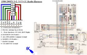 car radio wiring aftermarket stereo wiring diagram 280zx radio