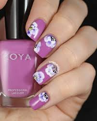 cute flower nail designs tags girly flower nail design for your