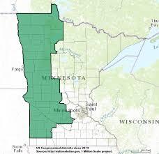 Minnesota United States Map by Minnesota U0027s 7th Congressional District Wikipedia