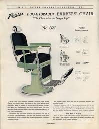 Barber Chairs For Sale In Chicago 1930 U0027s Paidar Barber Shop U0026 Beauty Shop Fixtures Catalog No 40