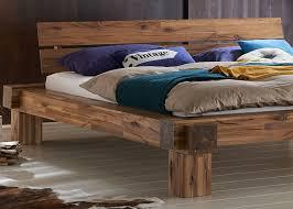Betten Schlafzimmer Amazon Xxs Elke Balkenbett 180 X 200 Cm In Warmem Braun Bett In