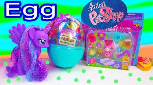 littlest pet shop easter eggs frank easter egg lps littlest pet shop unboxing