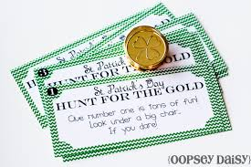 st patrick u0027s day treasure hunt printable oopsey daisy