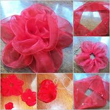 silk ribbon roses diy big silk ribbon fab diy