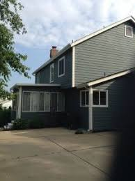 exterior painting with superpaint by sherwin williams color
