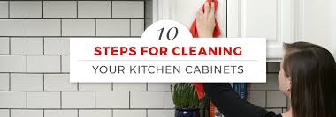 how to clean the kitchen cabinets how to clean kitchen cabinets in 10 steps with pictures