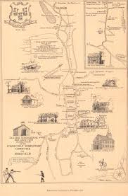 Map Of Ct Towns Putting History On The Map Wnpr News