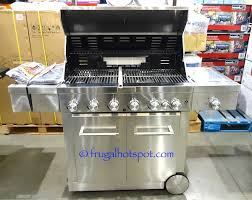 Kitchen Aid Gas Grill by Costco Sale Kitchenaid 6 Burner S S Gas Grill 799 99 Frugal