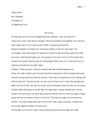essay format high school mom essays teachers essay personal narrative essay exles high