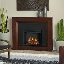 electric fireplace insert with blower mantel and storage bionaire