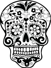 printable coloring pages sugar skulls simple sugar skull coloring pages skull coloring sheets coloring