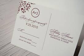 monogram wedding invitations s burgundy monogram wedding invitations